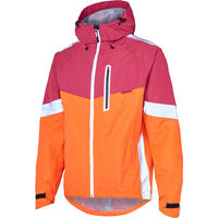 Madison Prime men's waterproof jacket, chilli red/burgundy