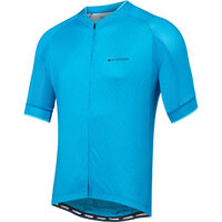 Madison Sportive men's short sleeve jersey, blue diamonds