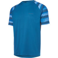 Madison Zenith men's short sleeve jersey, haze atlantic blue/ink navy