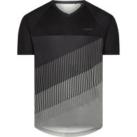 Madison Zenith men's short sleeve jersey, black / castle grey