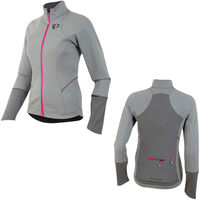 Pearl Izumi Women's, Elite Escape Softshell Jacket, Monument/Smoked Pearl