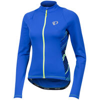 Pearl Izumi Women's SELECT Pursuit Thermal Jersey Dazzling Blue Whirl