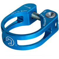 PRO Performance seatpost clamp, 34.9, blue