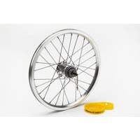 Brompton Rear wheel incl fittings for 3-spd - BSR 3-spd (Silver)