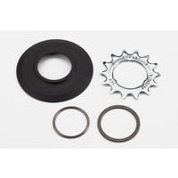 "Brompton ""Sprocket set incl chain guide disc 3/32"""" 3-spline - 14T (3-spd)"""